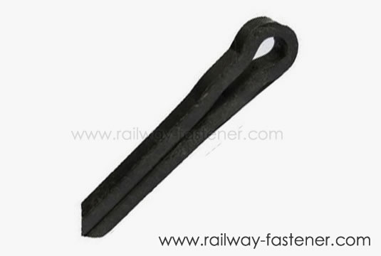 Railway lock pin
