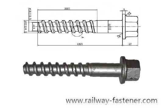 NF F50006 3V sleeper screw
