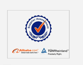 Alibaba Gold Supplier, TUV Verified