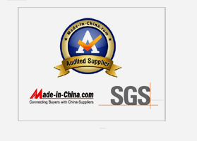 Made In China Audited Supplier, SGS Verified